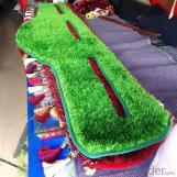 Factory directly sell no infill natural landscaping mini football field artificial grass