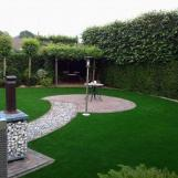 House Design Artificial  Grass /rose Graden Artificial Grass Scene