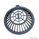 Cast Ductile Iron Manhole Covers with Frame in China