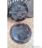 Casting Ductile Iron Manhole Covers D400 B125 with Frame in Hebei