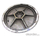 Ductile and Casting Iron Manhole Cover with EN124 from China