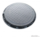 Casting Ductile Iron Manhole Covers with Frame for Construction in Hebei