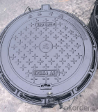 Cast Ductile Iron Manhole Covers B125 C250 for Industry with Competitive Price