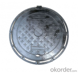 OEM ductile iron manhole covers with superior quality in Hebei
