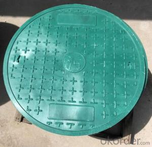 Casting Ductile Iron Manhole Covers B125 D400 for industry and construction with Competitive Prices