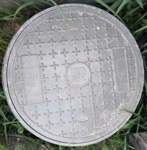 Cast Ductile Iron Manhole Covers for Mining with Frames
