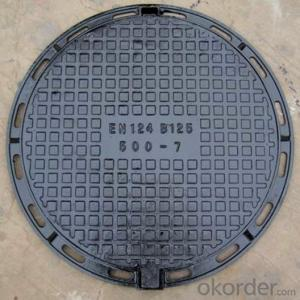 EN 214 ductile iron manhole covers with superior quality