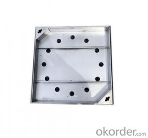 Casting Ductile Iron Manhole Covers B125 and C250 for industry with Competitive Prices Made in China