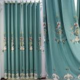 New Design High end Beautiful elegant  curtains  embroidered curtain