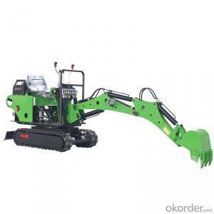 New 0.8 ton excavator cheap price with diesel engine