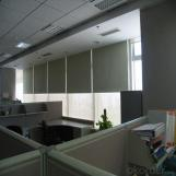 One Way Vision Outdoor Clear Roller Blinds