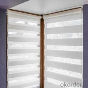Motorized External Venetian Blinds with Wide Wooden Blinds Images