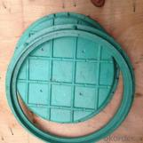 Mining Used Cast Iron Manhole Cover with High Quality in China