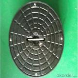 ISO-9001 2008 Ductile Iron Casting Manhole Cover for Mining