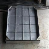 ISO-9001 316 Ductile Iron Casting Manhole Cover for Industry and Construction