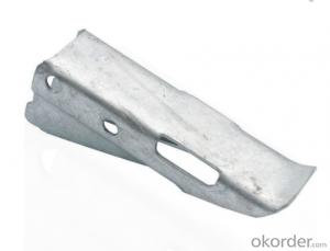Brackets Cable bearer (pressed mild teel type) galvanized