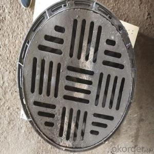 B125 D400 Ductile Iron Manhole Cover and Frames in Hebei
