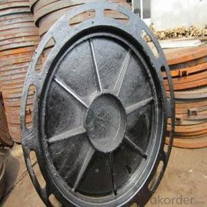 Casting Iron Manhole Cover B125 C250 with New Style Made in Hebei