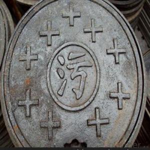 Suare High Tensile Ductile Cast Iron Manhole Cover EN124