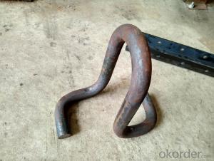 Iron anchor No.4 galvanized spec BS 729 Anchor iron