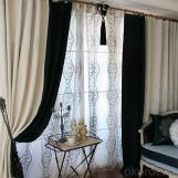 Wholesale Polyester curtains with new fancy design