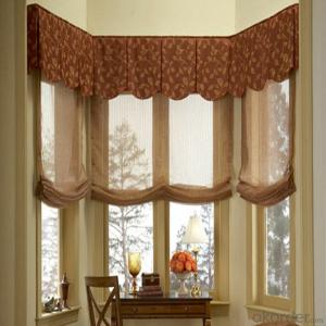 Patio Perforated Roller Fabric Shades Blinds