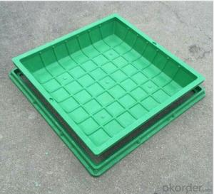 Ductile Iron Manhole Cover With EN124 Standard by Professional Manufacturers in China