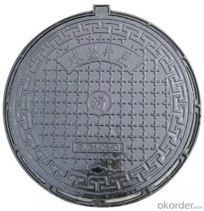 Casting Ductile Iron Manhole Cover C250 and B125 for Mining with Frames of good quality