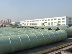 High Strength FRP Pipe Reinforced Plastic GRP Pipe Fiberglass Pipe Price