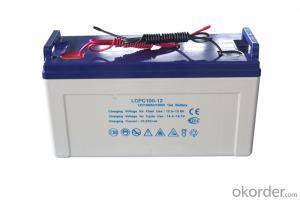 gel battery 12v100ah deep cycle solar agm battery 12v 100ah 3 years warranty