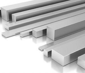 Aluminium flat bars wih a wide range of properties