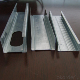 Light Steel Galvanized Drywall Ceiling Profile Metal Furring Channel
