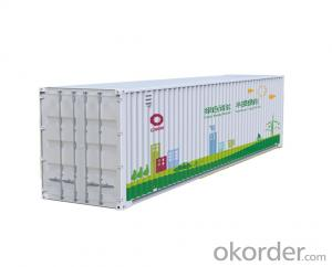 1 Mwh Container Energy Storage System LiFePO4 battery for remote place ESS