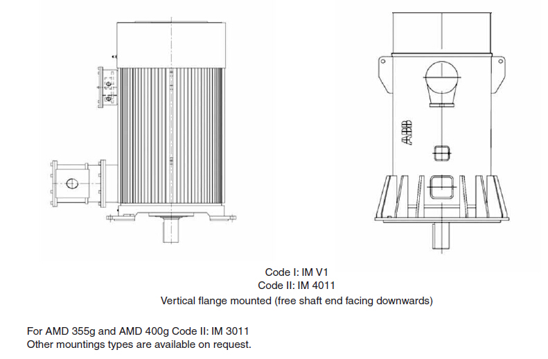 Buy ABB High Voltage Induction AC Motor Price,Size,Weight,Model