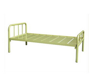Metal Single Bed,Beige Color and High Quality
