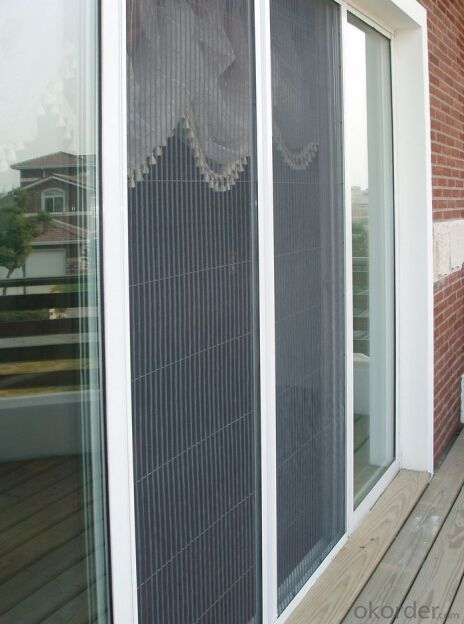 Pleated Screen Window System