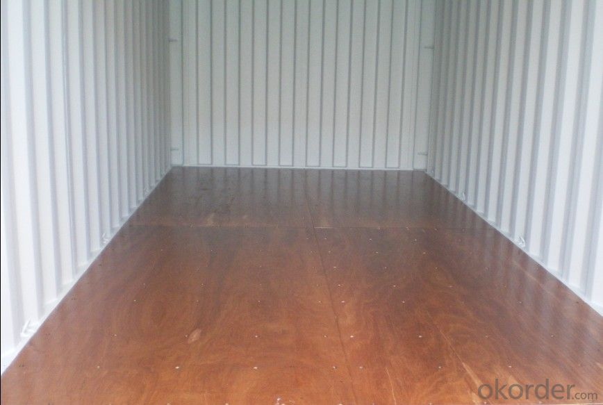 Plywood for Container Flooring Maintenance