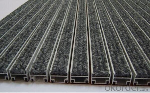 Buy Auminium Interlocking Matting With Aluminium Profile