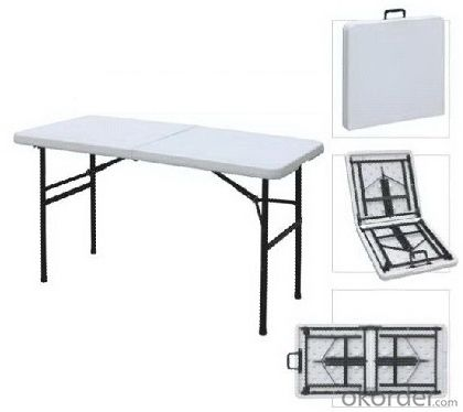 Utdoor White Foldable Table Trestle