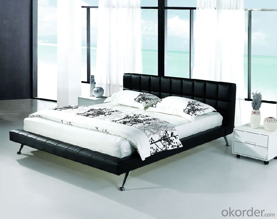 Modern Bedroom Leather Bed 2014 Type CMAX-A06