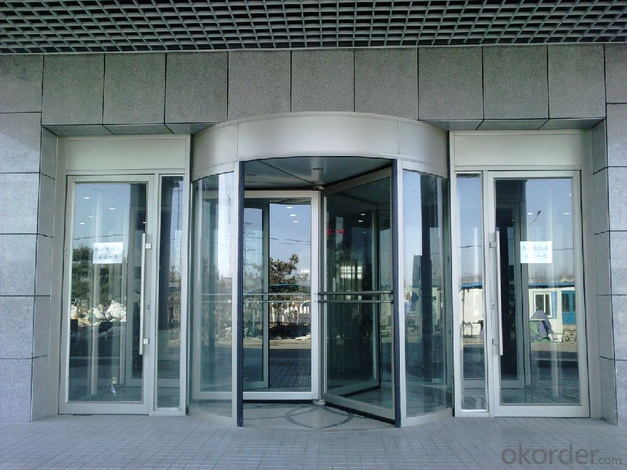 Buy All Glass Automatic Revolving Door Pricesizeweightmodelwidth