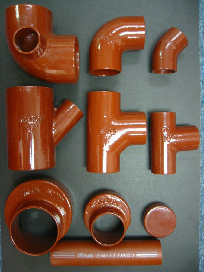 Cast Iron Pipe Cheap Grey Iron Pipe EN877 Made in China