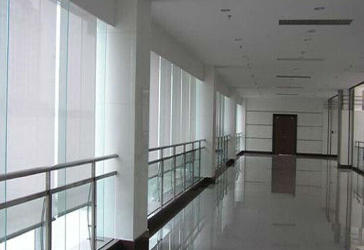 Roller Blinds for Indoor Sunshade such as Office and Meeting Rooms