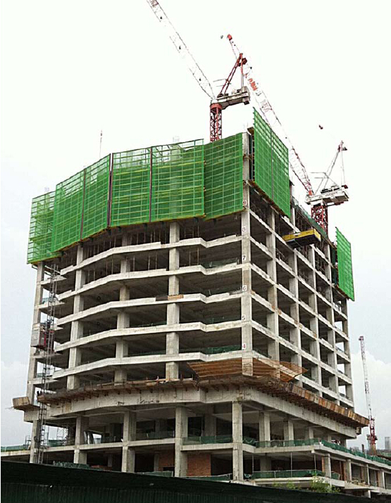 Protection Platform for Formwork and Scaffolding Build