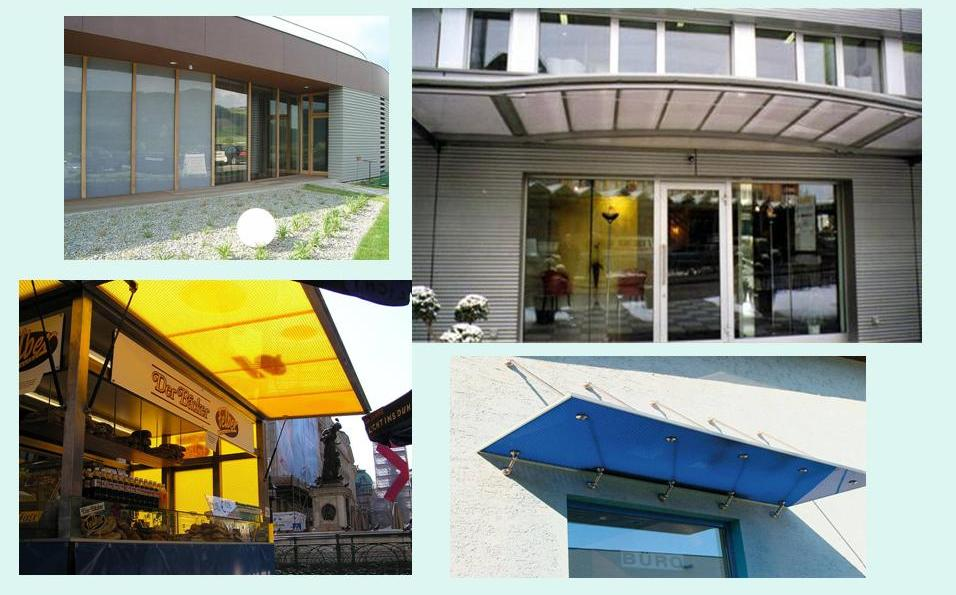 Polycarbonate Honeycomb Sheet with Different size Honeycomb
