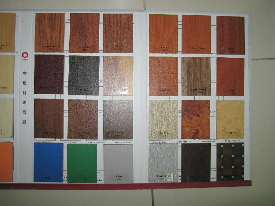 Melamine Faced MDF Board  Wood Grain & Solid Color