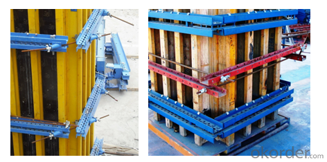 H20 Timber Beam Formwork for Rectangle, Square Concrete Column Formwork