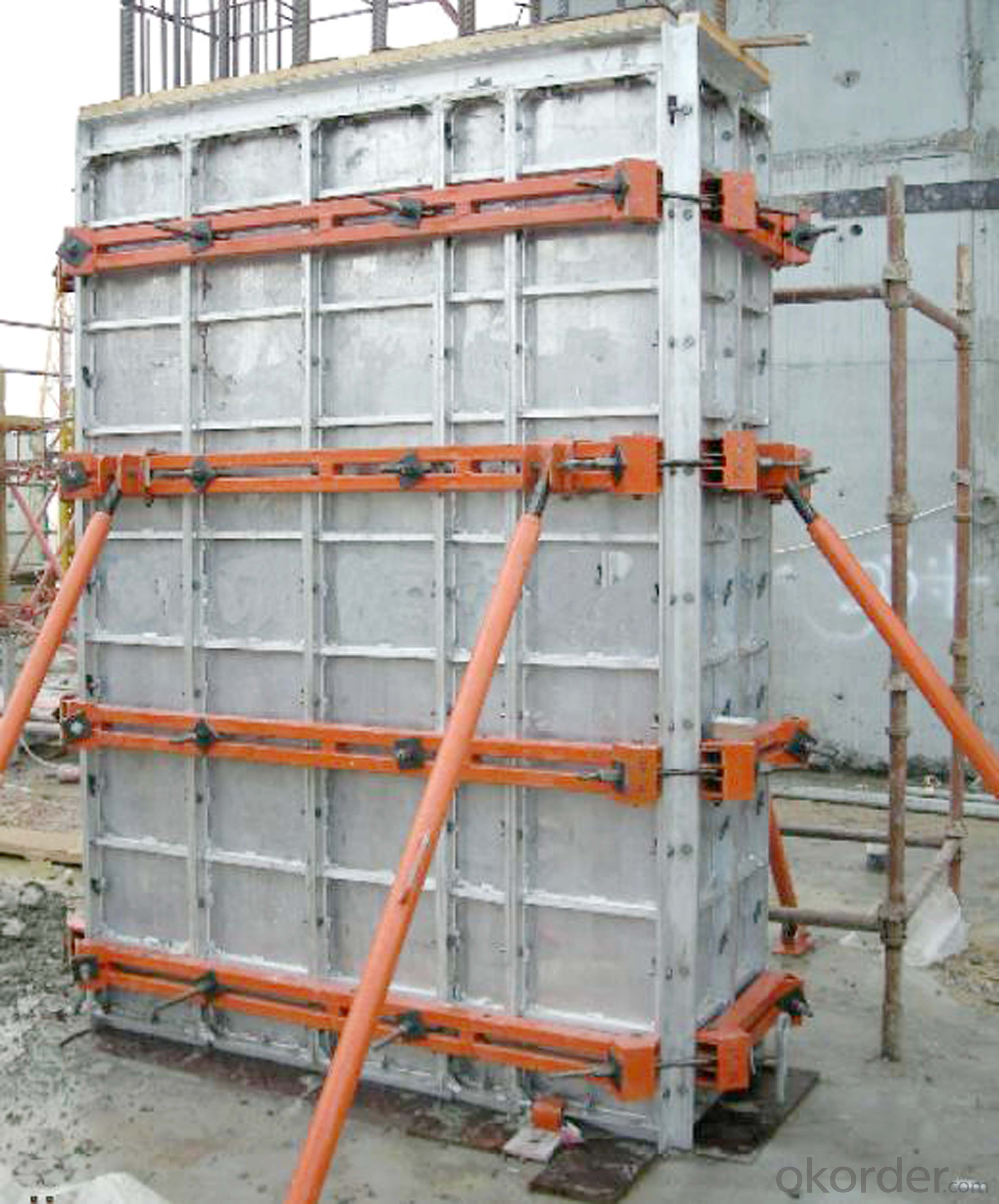 Adjustable Aluminum Formwork For Rectangle / Square Concrete Column Formwork