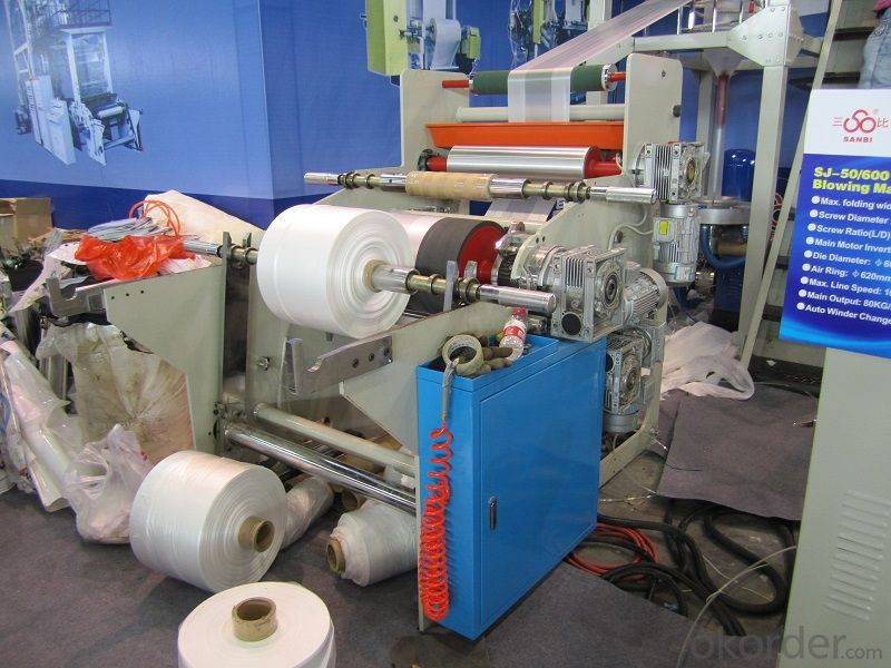 PE High Speed Blowing Film Machine (CE, ISO)