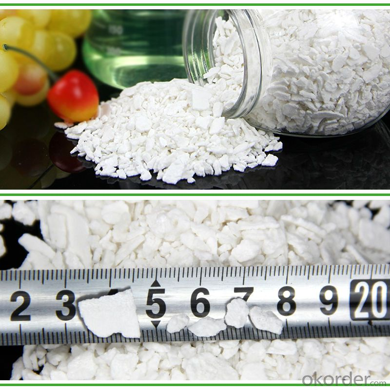 price for CaCl2 flake calcium chloride manufacturers